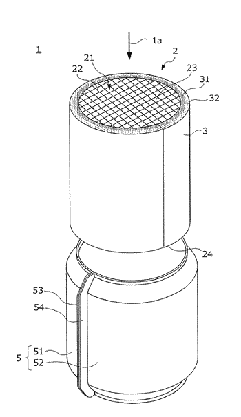 Exhaust purification device