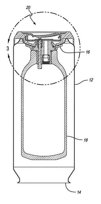 Self-cooling food or beverage container having a heat exchange unit using liquid carbon dioxide and ...