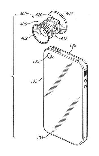 Auxiliary optical systems for mobile devices