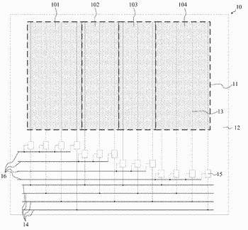 Array substrate, electronic paper display panel and driving method thereof