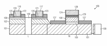 Semiconductor device comprising a floating gate flash memory device