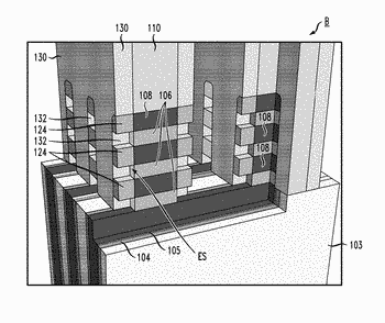 Self-aligned inner-spacer replacement process using implantation