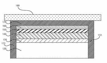 Protective capping layer for spalled gallium nitride