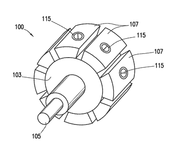 Methods for coupling permanent magnets to a rotor body of an electric motor