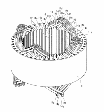 Stator and rotating electrical machine including the same