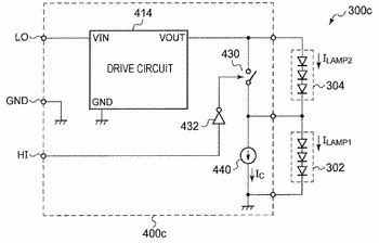 Lighting circuit and vehicular lamp