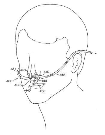 Devices, systems and methods for plethysmographic monitoring at the nose