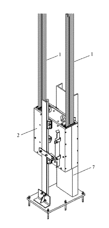 Tie-down device for compensation sheave, compensation sheave and elevator