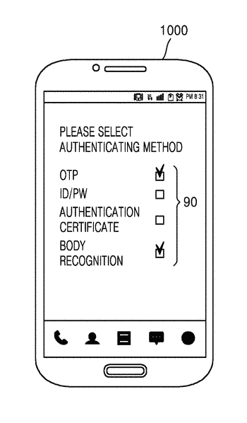 System and method of encrypting folder in device