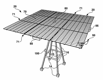 Solar tracker system for large utility scale solar capacity