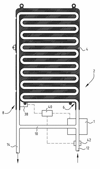 Flow controller and a hot water appliance provided therewith