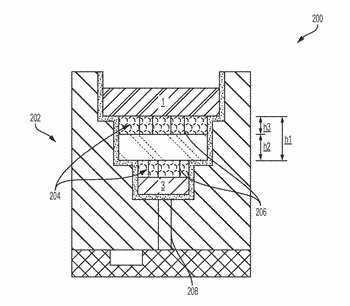 Self-aligned three dimensional chip stack and method for making the same