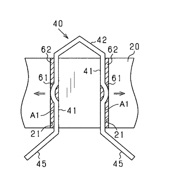 Stator for rotating electric machine
