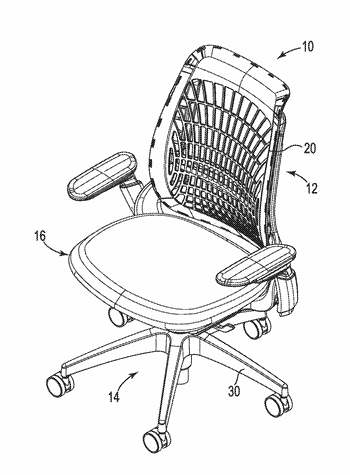 Chair and chair control assemblies, systems, and methods