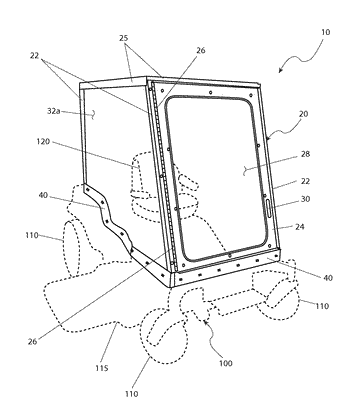 Air conditioning system for an open motorized vehicle