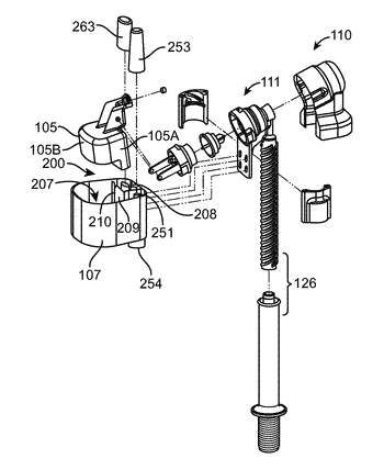 Siphon activated valve