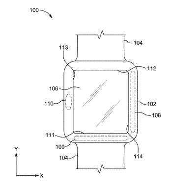 Processing capacitive touch gestures implemented on an electronic device