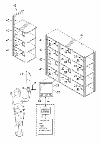 Shelf tag apparatus, systems, and methods for inventory picking and tracking