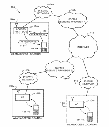 Methods and apparatus to discover authentication information in a wireless networking environment