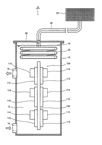 Electronic-device cooling system