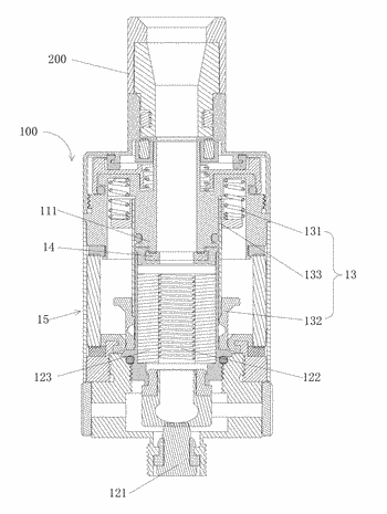 Atomizing device and electronic cigarette having same