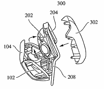 Method for manufacturing a headrest comprising an integrated functional module