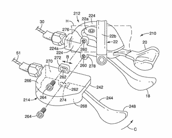 Bicycle component operating apparatus