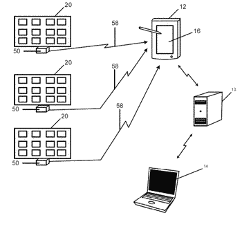 Sensor array, method of making same, and related medication compliance monitoring techniques