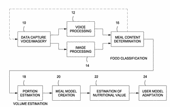 Food recognition using visual analysis and speech recognition