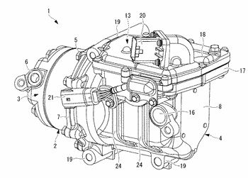 Electric compressor motor housing, and vehicle-mounted electric compressor employing same