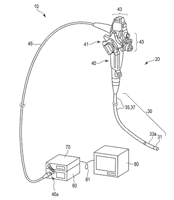 Flexible tube insertion apparatus