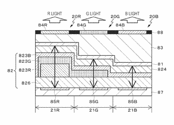Display device, method of manufacturing display device, and electronic device