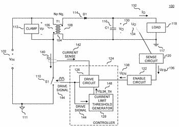 Switched mode power converter controller with ramp time modulation with jitter frequency