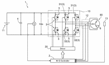 Rotating electrical machine control device