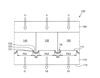 Color filter and display device including the same