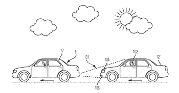System and method to place subjective messages on a vehicle