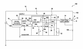Control circuit for solid state power controller