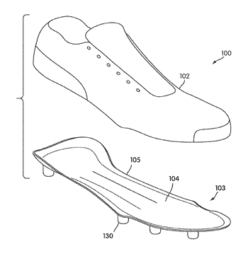 Article of footwear including full length composite plate