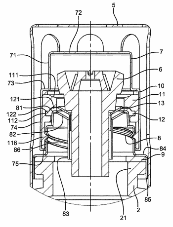 Device for catalytic diffusion of a fragrance