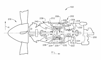 Dual tierod assembly for a gas turbine engine and method of assembly thereof