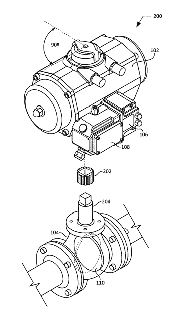 Methods and apparatus for automatically detecting the failure configuration of a pneumatic actuator