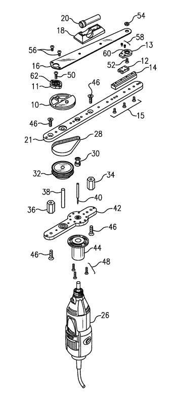 Apparatuses for generating a reciprocating motion for the purpose of grinding of samples
