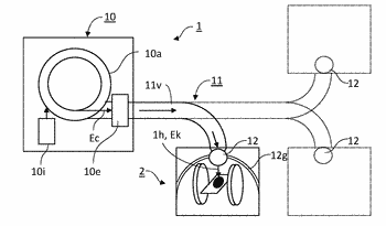 Apparatus and method for visualizing a hadron beam path traversing a target tissue by magnetic ...