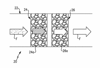 System with multiple adsorbents for ammonia and organic removal
