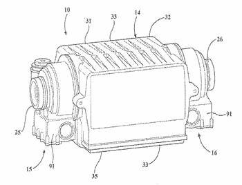 Hybrid axle assembly for a motor vehicle