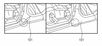 Vehicle body side reinforcement assembly of vehicle
