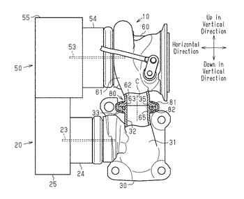 Forced-induction device for vehicle