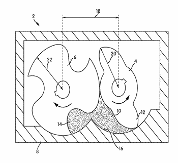 Rotary device and a method of designing and making a rotary device