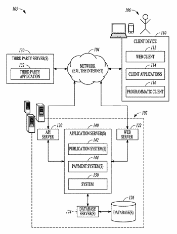 Portable electronic device with user-configurable api data endpoint