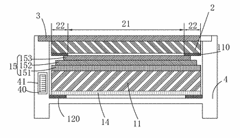Mold-frame-free liquid crystal display device and assembly method thereof